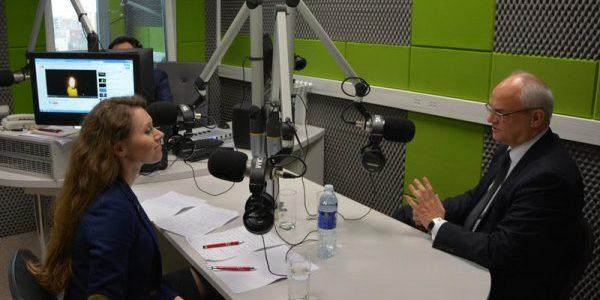 Radio Wilno. Wywiad z Ambasadorem RP Jarosławem Czubińskim
