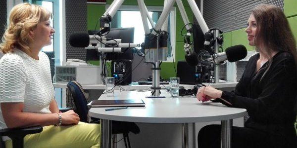 Radio Wilno. Wywiad z Edytą Tamošiūnaitė