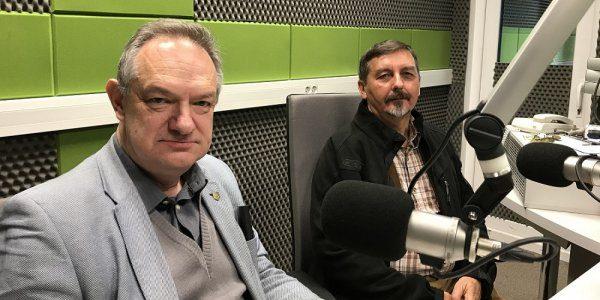 """Grzegorz Rąkowski i Kazimierz Krajewski dla Radia Wilno o albumie """"Kresowe rezydencje"""""""