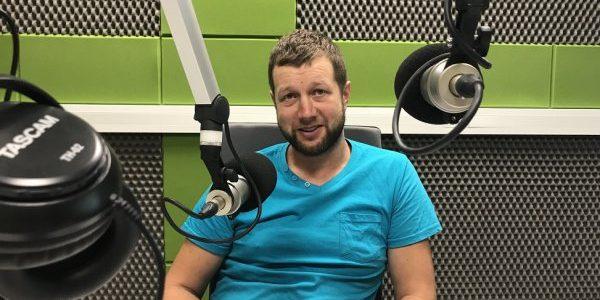 Czesław Pociej dla Radia Wilno o Święcie Sportu w Rudominie