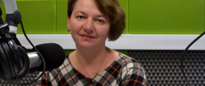 Renata Mickiewicz dla Radia Wilno o dożynkach w Mickunach