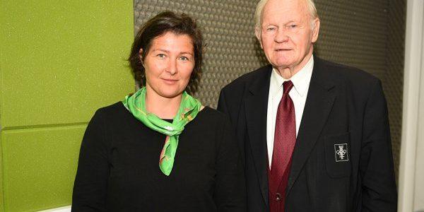 Katarzyna Deberny i Krzysztof Zuchora dla Radia Wilno o heroizmie i bohaterstwie w sporcie