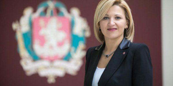 Edyta Tamošiūnaitė dla Radia Wilno o odsłonięciu w Wilnie tablicy upamiętniającej śp. Lecha Kaczyńskiego