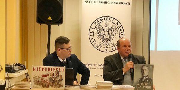 Dr Piotr Kardela i dr Paweł Warot dla Radia Wilno o generale Gustawie Orliczu-Dreszerze