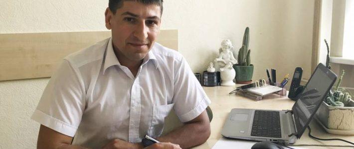 Andrzej Szarejus dla Radia Wilno o pracy w administracji samorządu rejonu święciańskiego