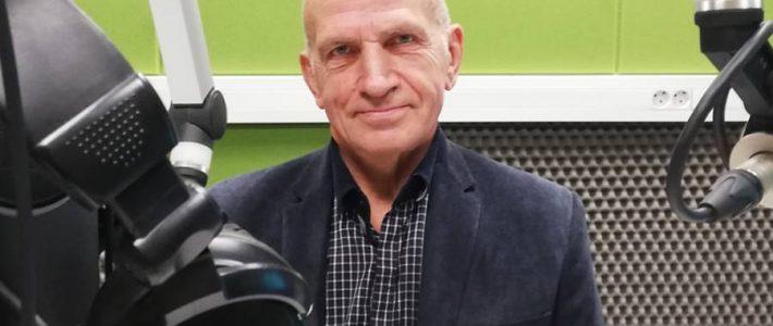 """Radio Wilno. """"Okienko Liryczne"""" z Kazimierzem Morozem. 2019-10-26."""