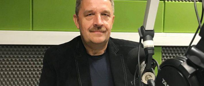 Marian Dźwinel dla Radia Wilno o Muzeum Szkolnictwa na Wileńszczyźnie