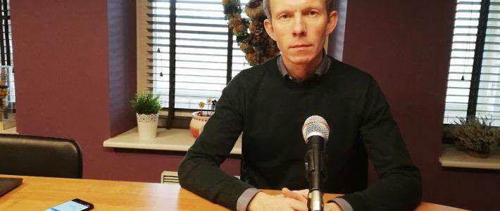 """German Komarowski dla Radia Wilno o koncercie jubileuszowym zespołu tanecznego """"Perła"""""""