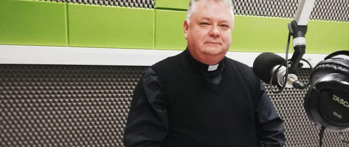 Ks. Mirosław Grabowski dla Radia Wilno o parafii św. Rafała Archanioła w Wilnie